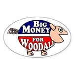 Big Money for Rob Woodall Pig Bumper Sticker