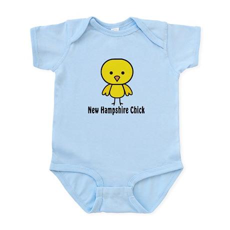 New Hampshire Chick Infant Bodysuit