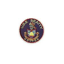 USS BEATTY Mini Button