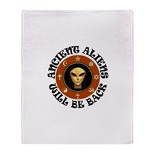 THEY'LL BE BACK Throw Blanket