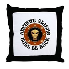 THEY'LL BE BACK Throw Pillow