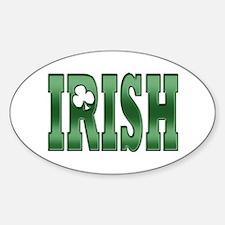 Irish Pride Sticker (Oval)
