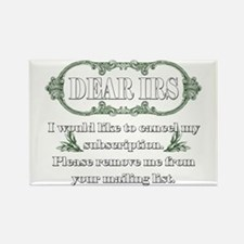 Dear IRS Rectangle Magnet