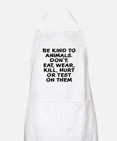 Be kind to animals Apron
