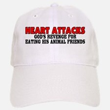 Heart attacks Baseball Baseball Cap