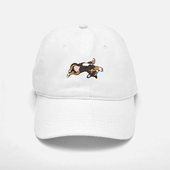 Sleeping Bernese Mountain Dog Baseball Baseball Cap