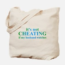 Husband Watches... Tote Bag