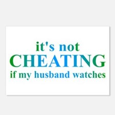 Husband Watches... Postcards (Package of 8)
