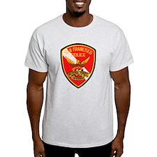 San Francisco Police Dive Tea T-Shirt