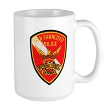 San Francisco Police Dive Tea Mug