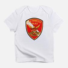 San Francisco Police Dive Tea Infant T-Shirt