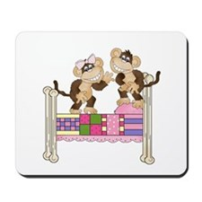 Jumping Monkeys Mousepad