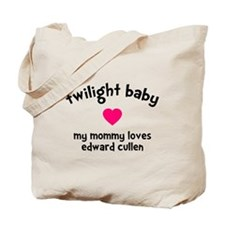 Heart TwiBaby Mom Tote Bag