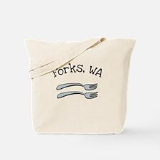 2 Forks Tote Bag