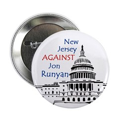 New Jersey Against Runyan button