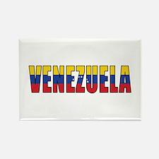Venezuela Rectangle Magnet