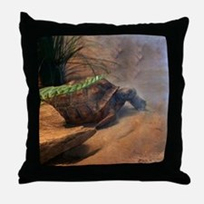 Gopher Tortoise Throw Pillow