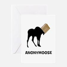 Anonymoose Greeting Card