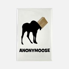 Anonymoose Rectangle Magnet