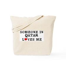 Someone in Qatar Tote Bag