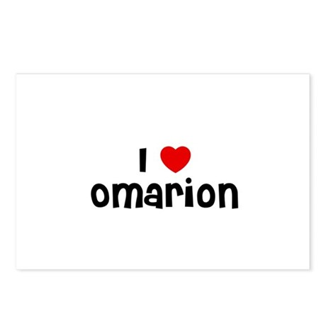 I * Omarion Postcards (Package of 8)
