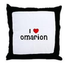 I * Omarion Throw Pillow