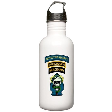 Private Security Contractor Stainless Water Bottle