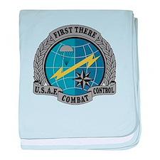Combat Control Team baby blanket