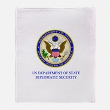 Department of State PSD Throw Blanket