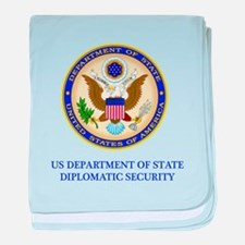 Department of State PSD baby blanket