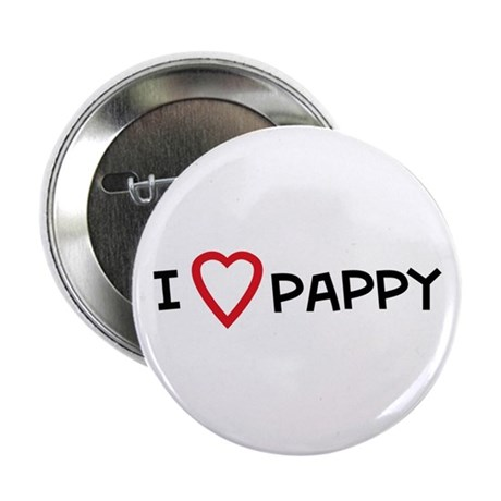 I Love Pappy Button