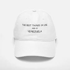 Best Things in Life: Venezuel Baseball Baseball Cap