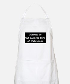 Dissent is Patriotism BBQ Apron