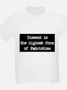 Dissent is Patriotism T-Shirt