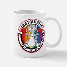LGBTQIA Ally Cat Mug