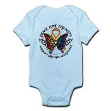 LGBT Peace Love Equality Infant Bodysuit