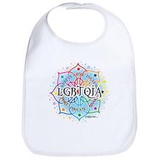 LGBTQIA Lotus Bib