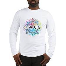 LGBTQIA Lotus Long Sleeve T-Shirt