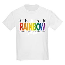LGBTQIA Think Rainbow T-Shirt