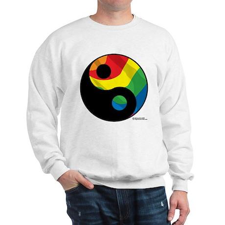 LGBTQ Ying Yang Sweatshirt