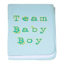 Cute Text1 baby blanket