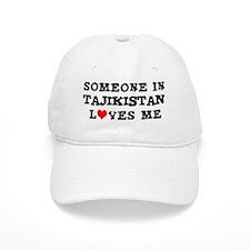 Someone in Tajikistan Baseball Cap