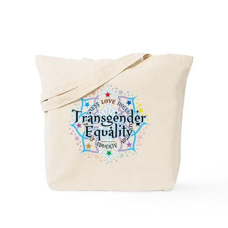 Transgender Lotus Tote Bag