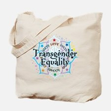 Transgender Lotus Tote Bag