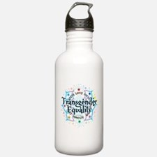 Transgender Lotus Water Bottle