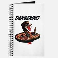 Dangerous Rattlesnake Snake Journal