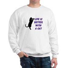 Life is Better Sweatshirt (two sided)
