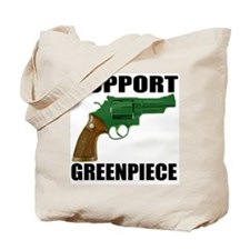 SUPPORT GREENPIECE Tote Bag