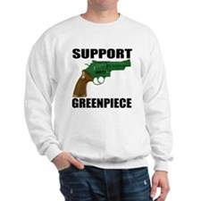 SUPPORT GREENPIECE Sweatshirt