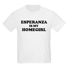 Esperanza Is My Homegirl Kids T-Shirt